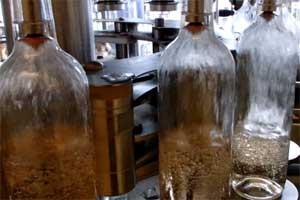 Bottling of Grey wine